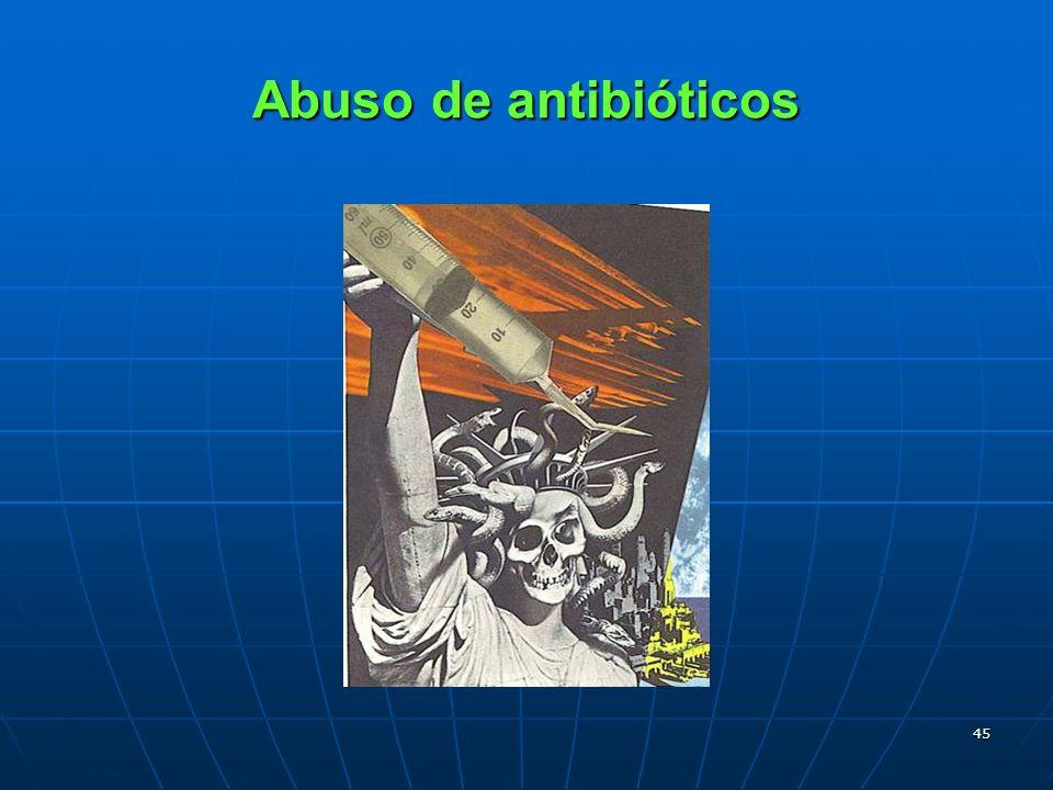 45 Abuso de antibióticos