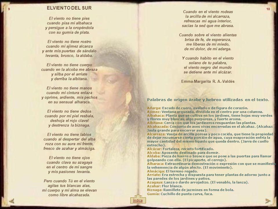 REINICIOREINICIO SALIRSALIR Emma Margarita R.A.-Valdés