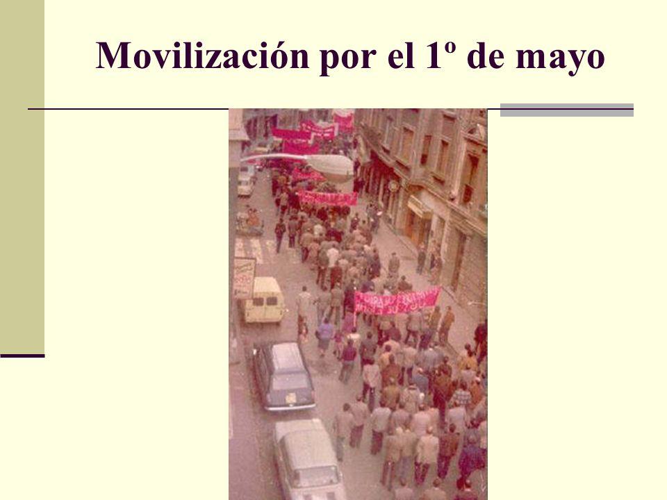 Movilización por el 1º de mayo