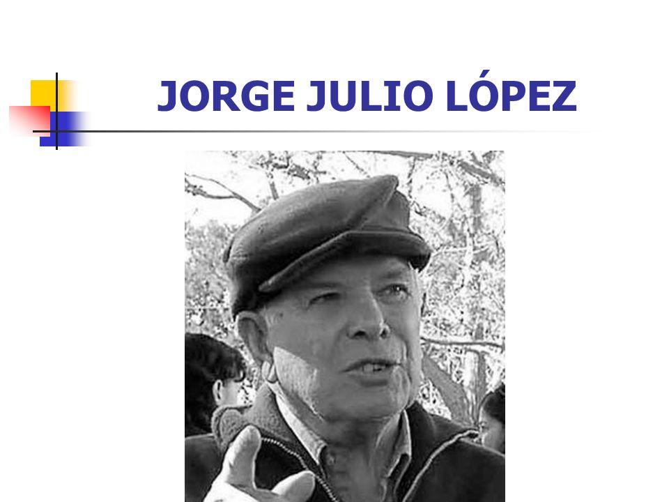 JORGE JULIO LÓPEZ