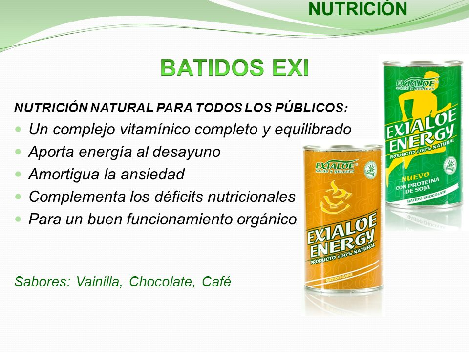 NUTRICIÓN NATURAL PARA TODOS LOS PÚBLICOS: Un complejo vitamínico completo y equilibrado Aporta energía al desayuno Amortigua la ansiedad Complementa