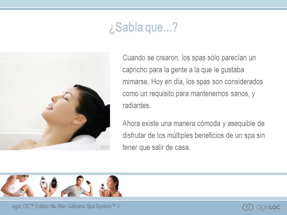 ageLOC Edition Nu Skin Galvanic Spa System II Gel de pre tratamiento Ingredientes Clave Extracto de caléndula – reconforta y calma la piel.