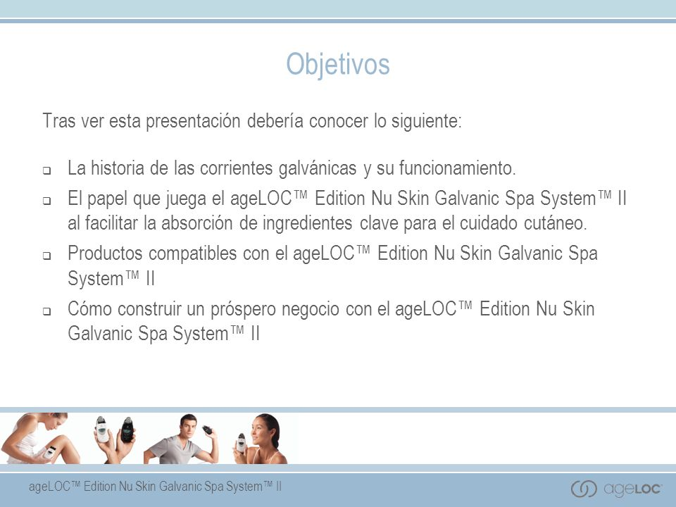 ageLOC Edition Nu Skin Galvanic Spa System II Nu Skin Galvanic Spa System II Body Shaping Gel