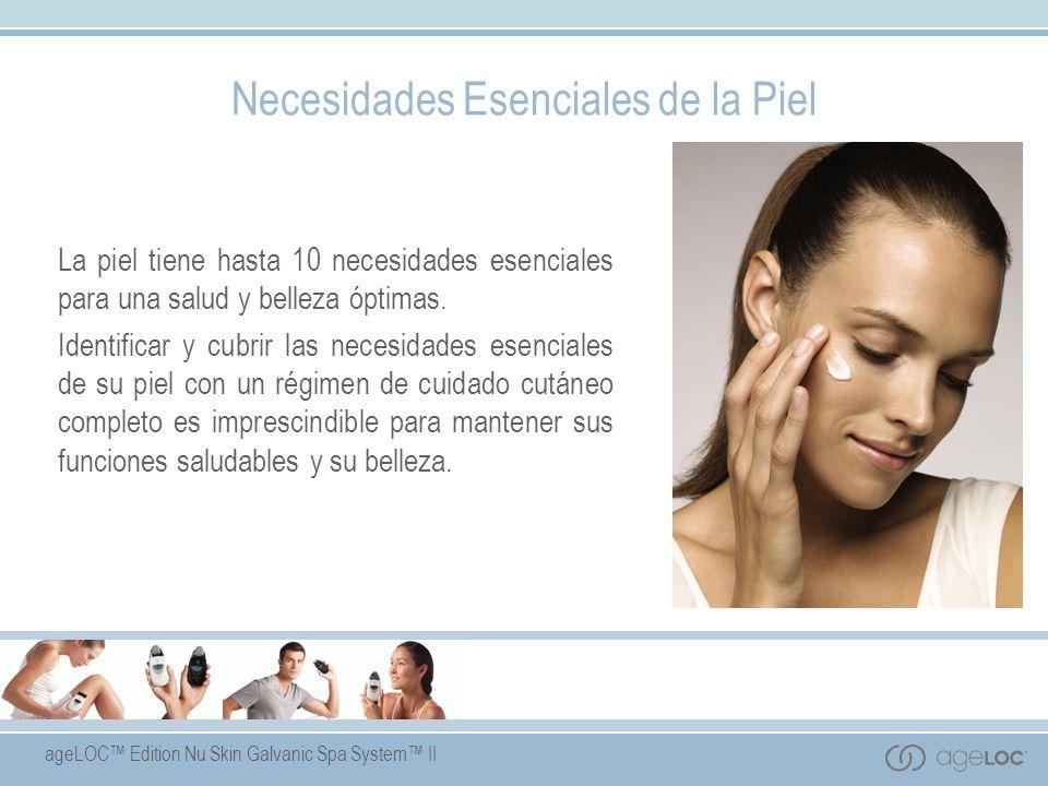 ageLOC Edition Nu Skin Galvanic Spa System II Enfoque Global del Cuidado Cutáneo Los mejores productos de cuidado cutáneo actúan de forma global para cubrir las necesidades esenciales de la piel.