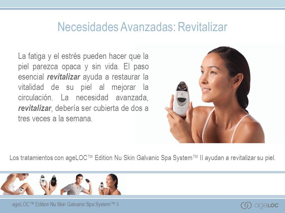 ageLOC Edition Nu Skin Galvanic Spa System II Paso 2: gel de tratamiento con ageLOC - Beneficios del Producto - b)Ayuda a la recuperación del estrés, y contribuye a la energía celular.