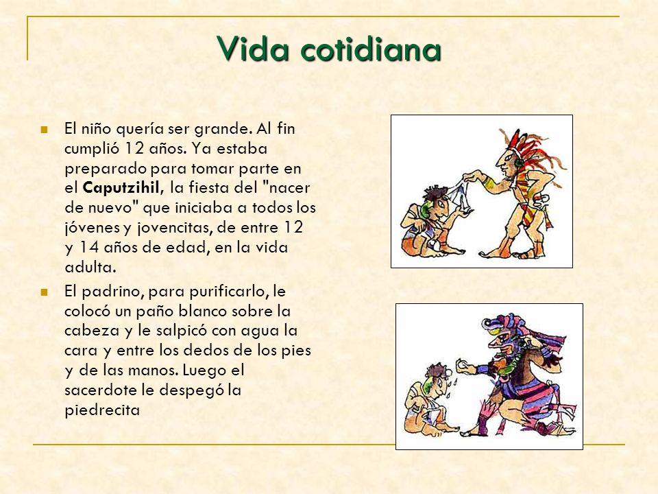 Los mayas creían que el creador del mundo era Hunab Ku, Su hijo Itzamná, con forma de serpiente, presidía a los demás dioses, tenía el poder del fuego y del hogar, y era el inventor de la escritura y los libros.