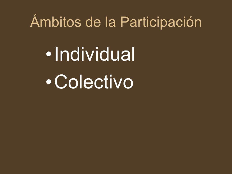 Factores facilitadores de la participación comunitaria en salud 1.