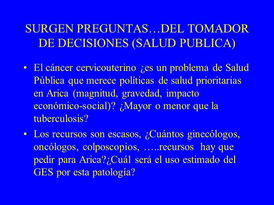 ¿Quién tiene más riesgo de presentar la enfermedad? ¿Cuál es su pronostico? ¿Cómo se diagnostica mejor (calidad de tests)? ¿Cuál es el mejor tratamien