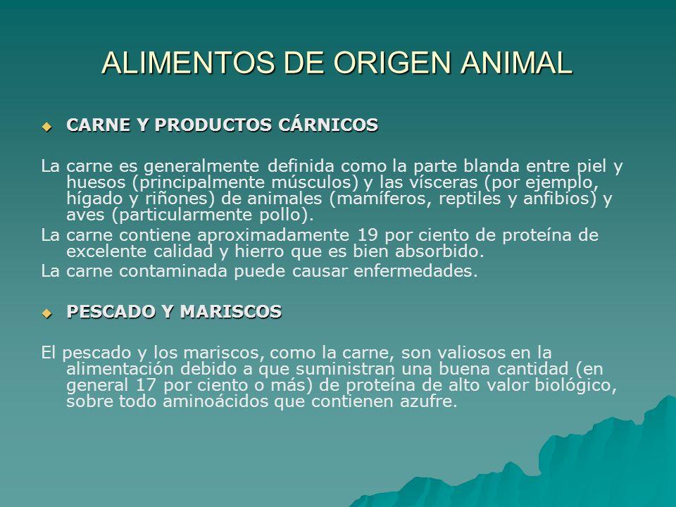 CARNE Y PRODUCTOS CÁRNICOS CARNE Y PRODUCTOS CÁRNICOS La carne es generalmente definida como la parte blanda entre piel y huesos (principalmente múscu