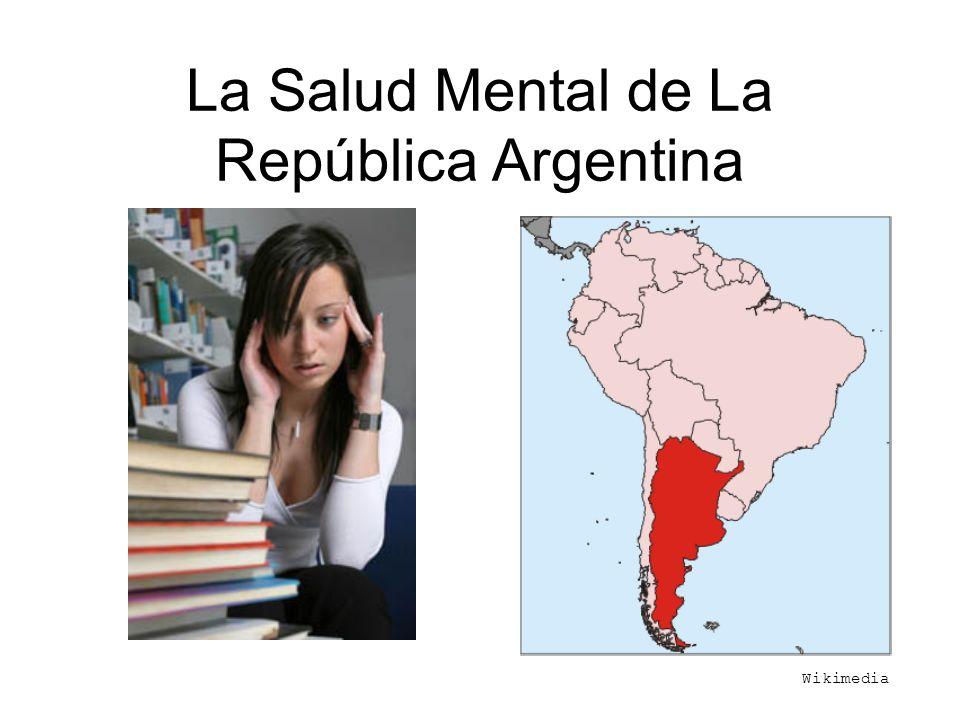 La Salud Mental de La República Argentina Wikimedia