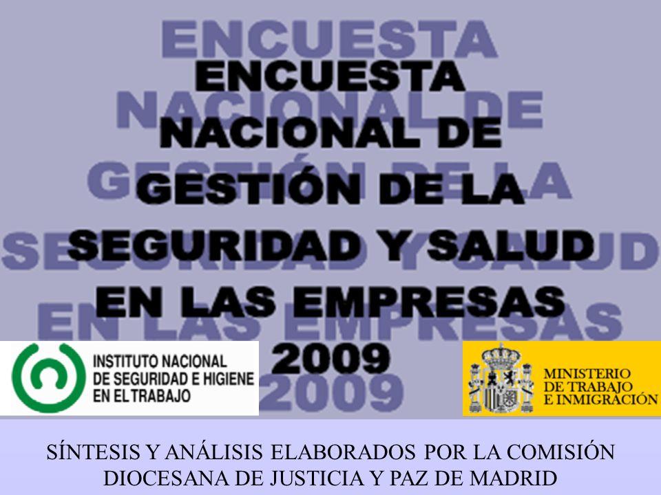 SÍNTESIS Y ANÁLISIS ELABORADOS POR LA COMISIÓN DIOCESANA DE JUSTICIA Y PAZ DE MADRID