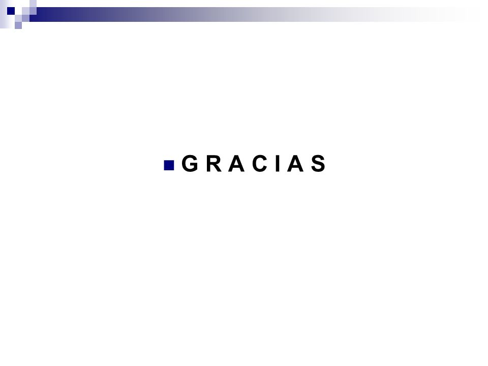 G R A C I A S