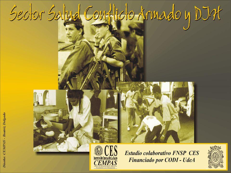 Información en el programa académico acerca de la protección del personal de salud en zonas de conflicto.