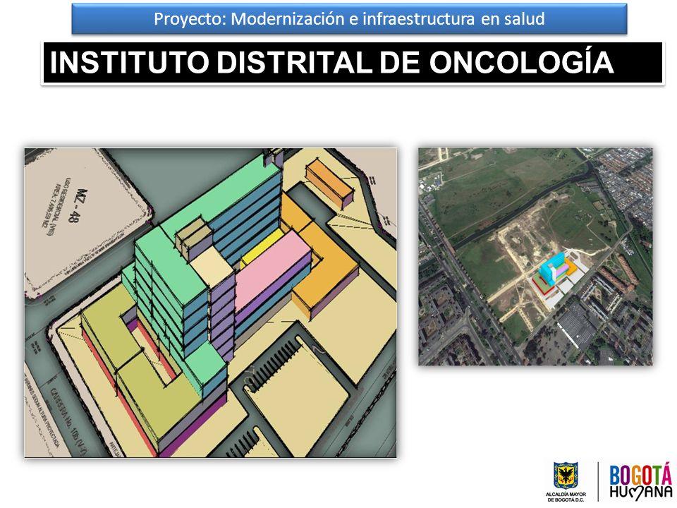 Proyecto: Modernización e infraestructura en salud INSTITUTO DISTRITAL DE ONCOLOGÍA 47