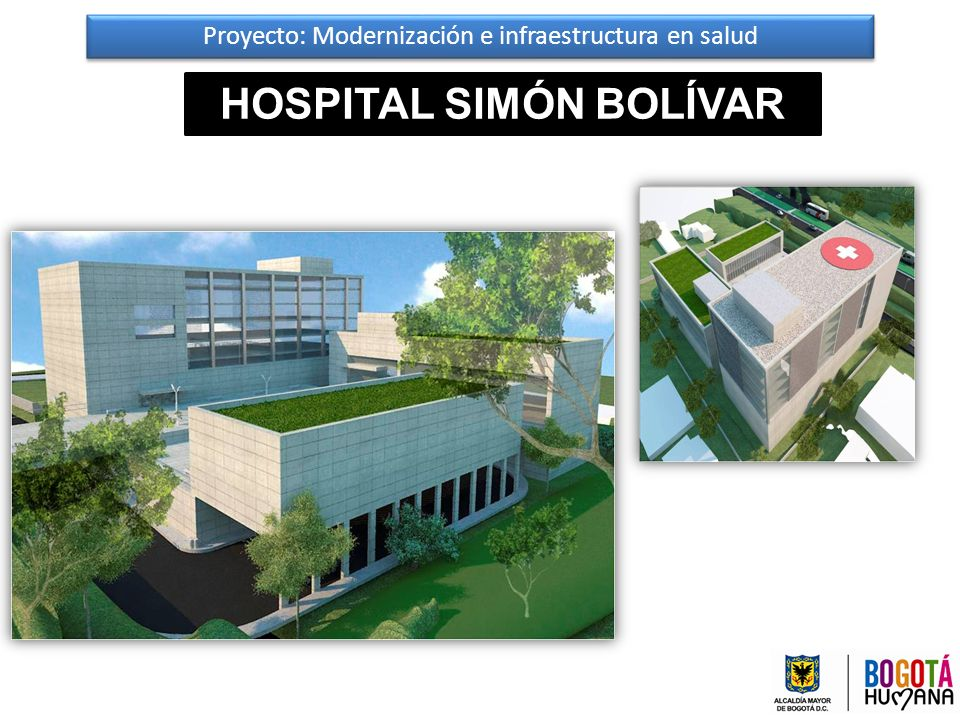 Proyecto: Modernización e infraestructura en salud HOSPITAL SIMÓN BOLÍVAR