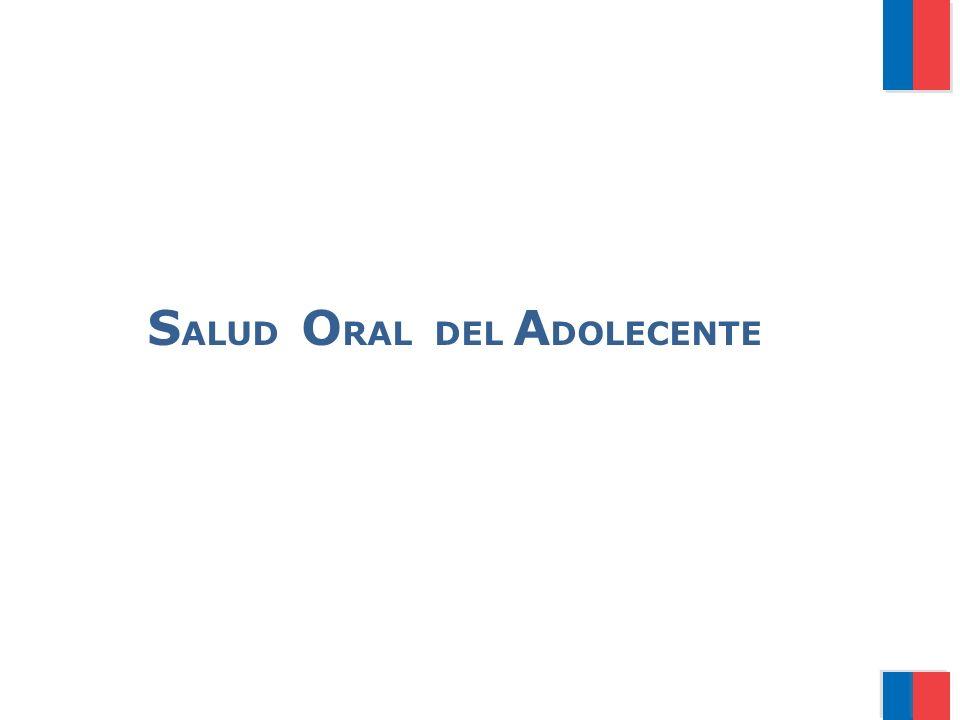 S ALUD O RAL DEL A DOLECENTE