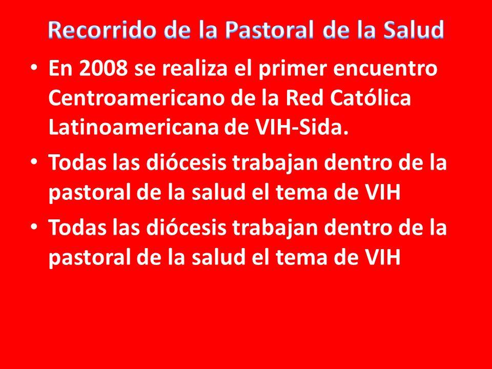 En 2008 se realiza el primer encuentro Centroamericano de la Red Católica Latinoamericana de VIH-Sida.