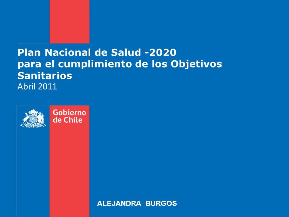 Gobierno de Chile   Ministerio del Interior 20002020 Objetivos Sanitarios 2000-2010 Reforma de Salud - Acceso a Intervenciones Sanitarias de nivel individual.