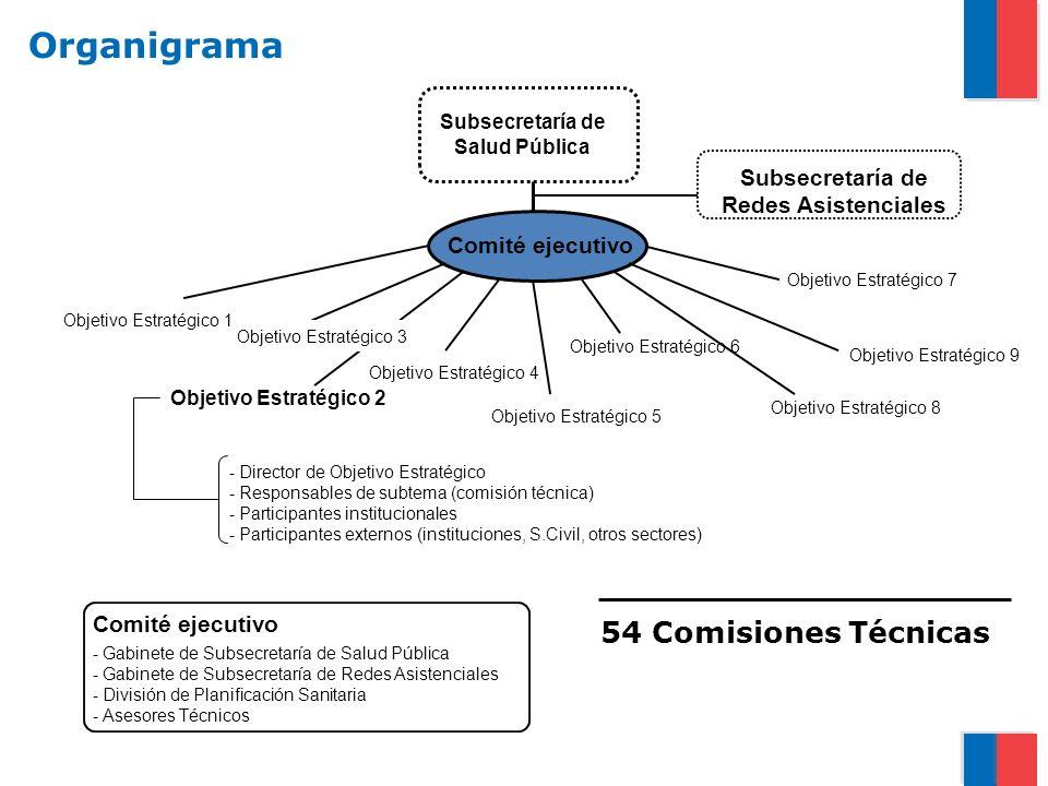 Marzo 2011 Julio 2010 Julio 2011 Plan Estratégico (Plan Nacional de Salud 2011-2020) Pendientes Generales (2) Plan Operacional (MINSAL) Adecuación Regional del Plan Nacional de Salud