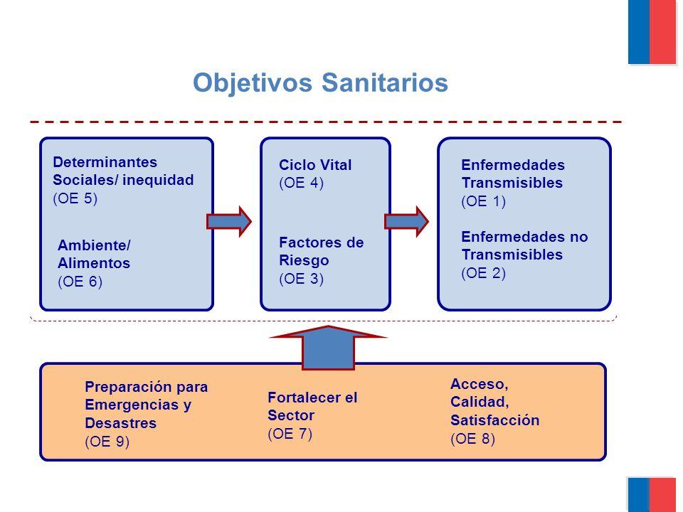 Gobierno de Chile   Ministerio del Interior OE 1 Letalidad IAM/ACV OE 3 Salud Óptima OE 3 Obesidad OE 3 Sedentarismo OE 3 Tabaco OE 4 Trabajadores OE 5 Geográfica OE 5 Posición Social SaludCalidad EquidadParticipación Cardiovascular OE 8 Acceso OE 8 Efectividad/Seg OE 8 Tec.