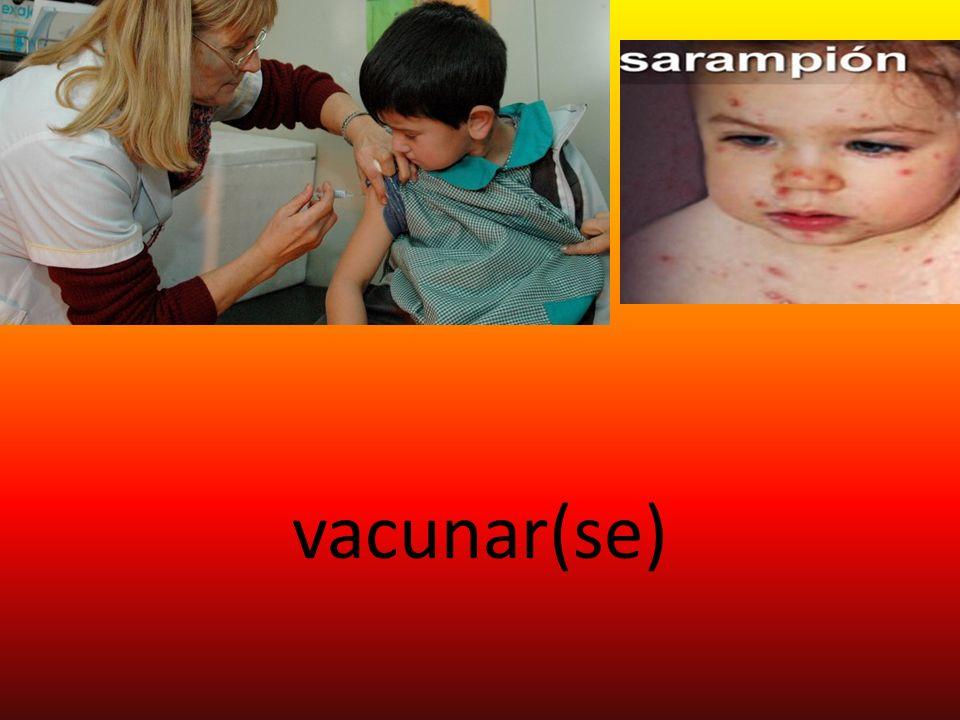 vacunar(se)