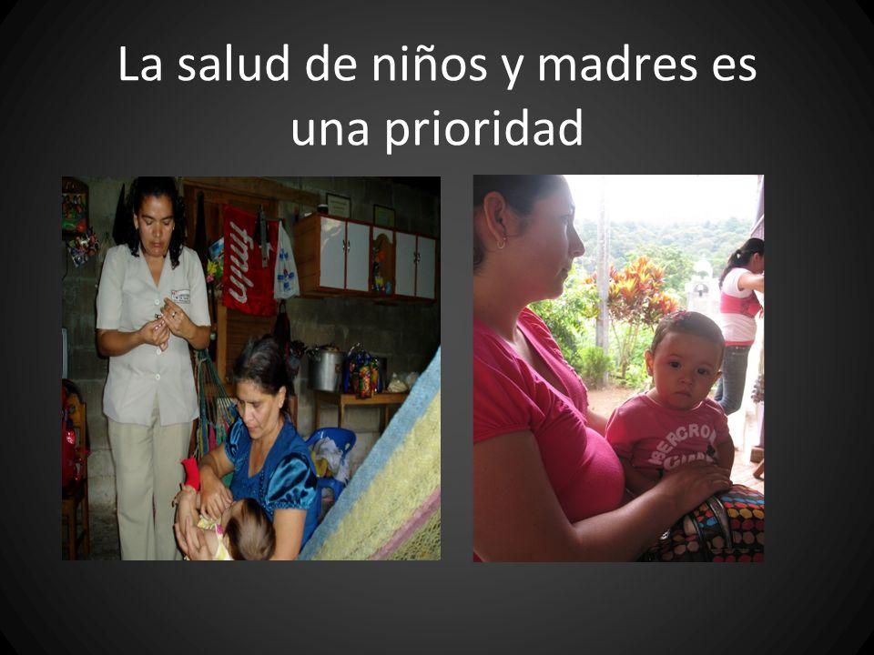La salud de niños y madres es una prioridad