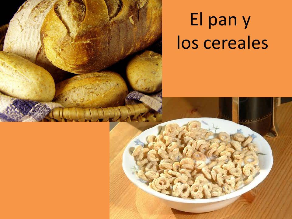 El pan y los cereales