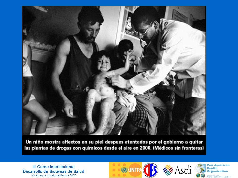 III Curso Internacional Desarrollo de Sistemas de Salud Nicaaragua, agosto-septiembre 2007