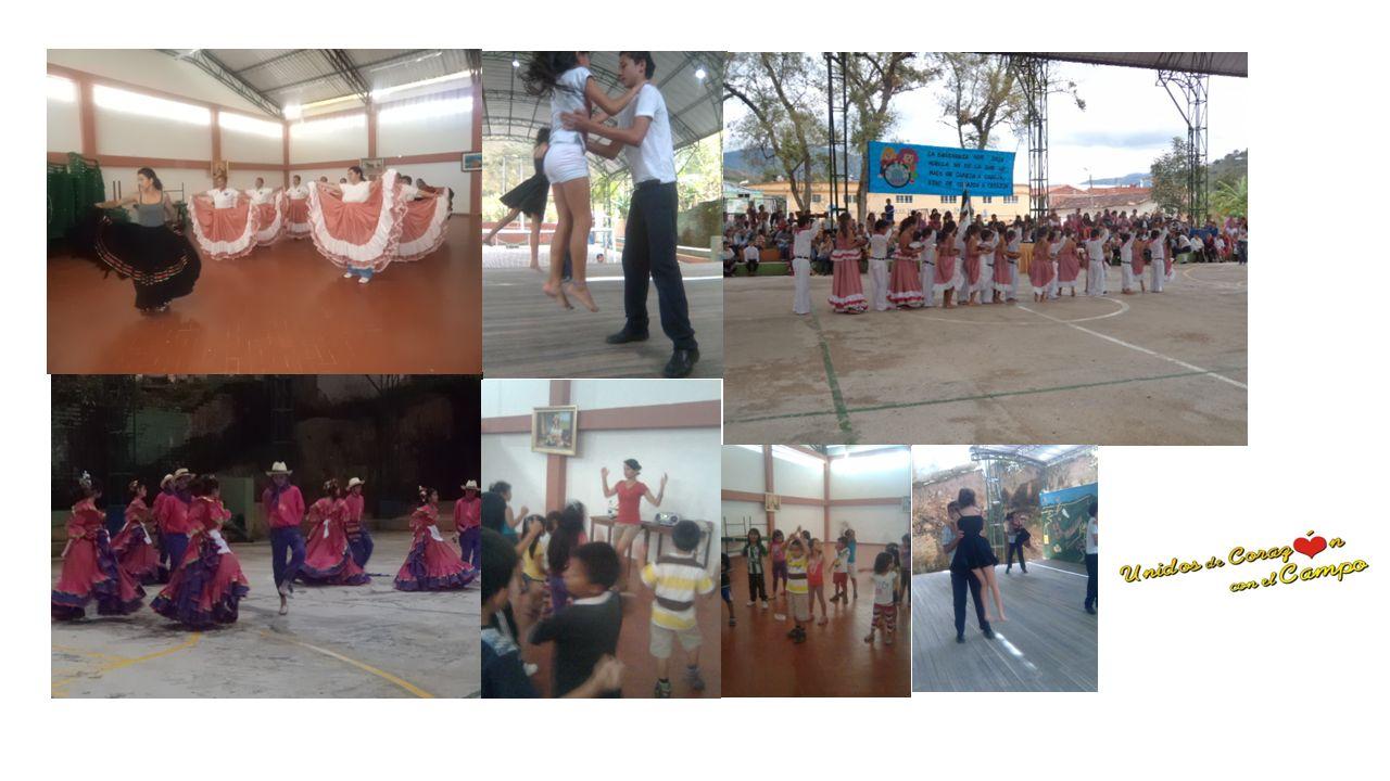 Fomento, apoyo y difusión de eventos y expresiones artistas y culturales. Se prestaron servicios para formación en Danzas y bandas musicales en niños,