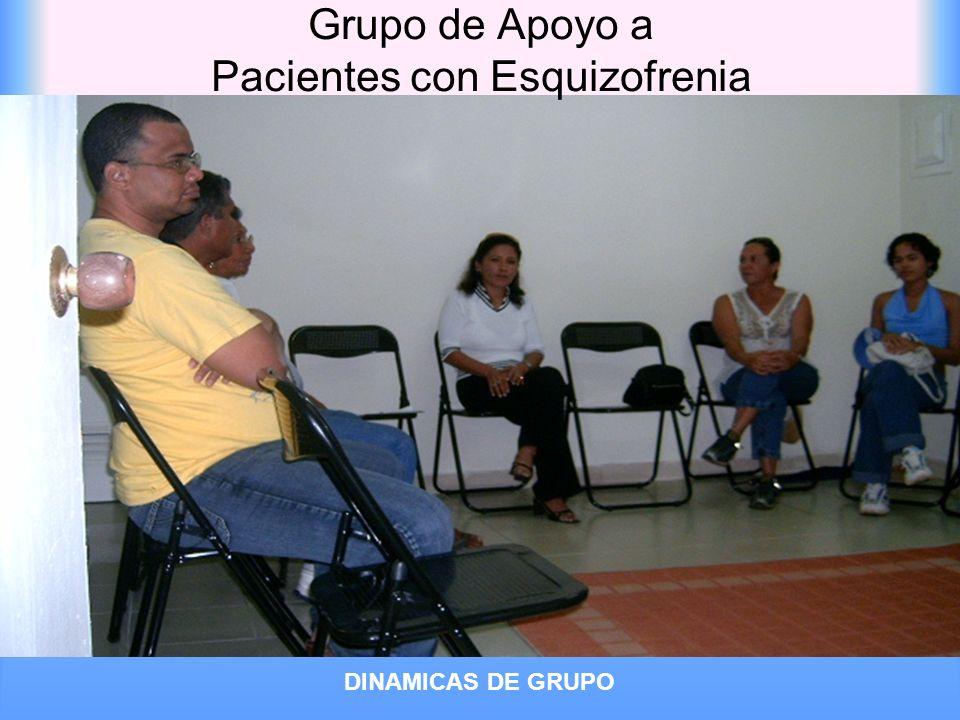 Grupo de Apoyo a Pacientes con Esquizofrenia DINAMICAS DE GRUPO