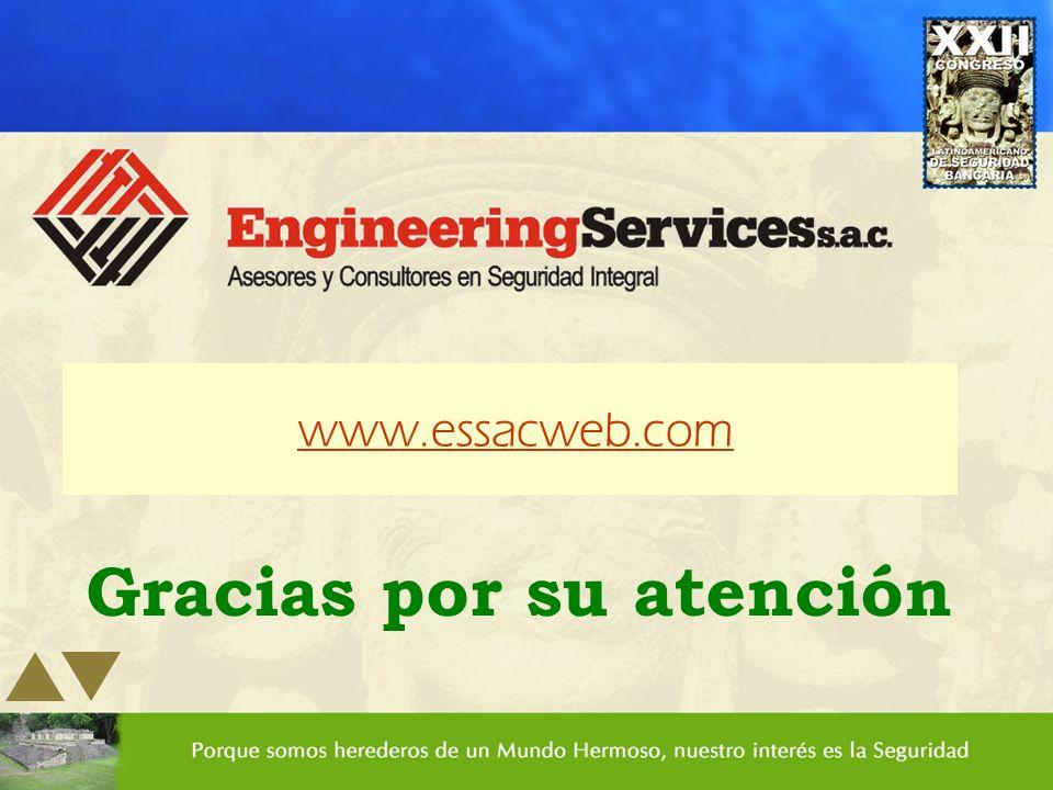 Gracias por su atención www.essacweb.com