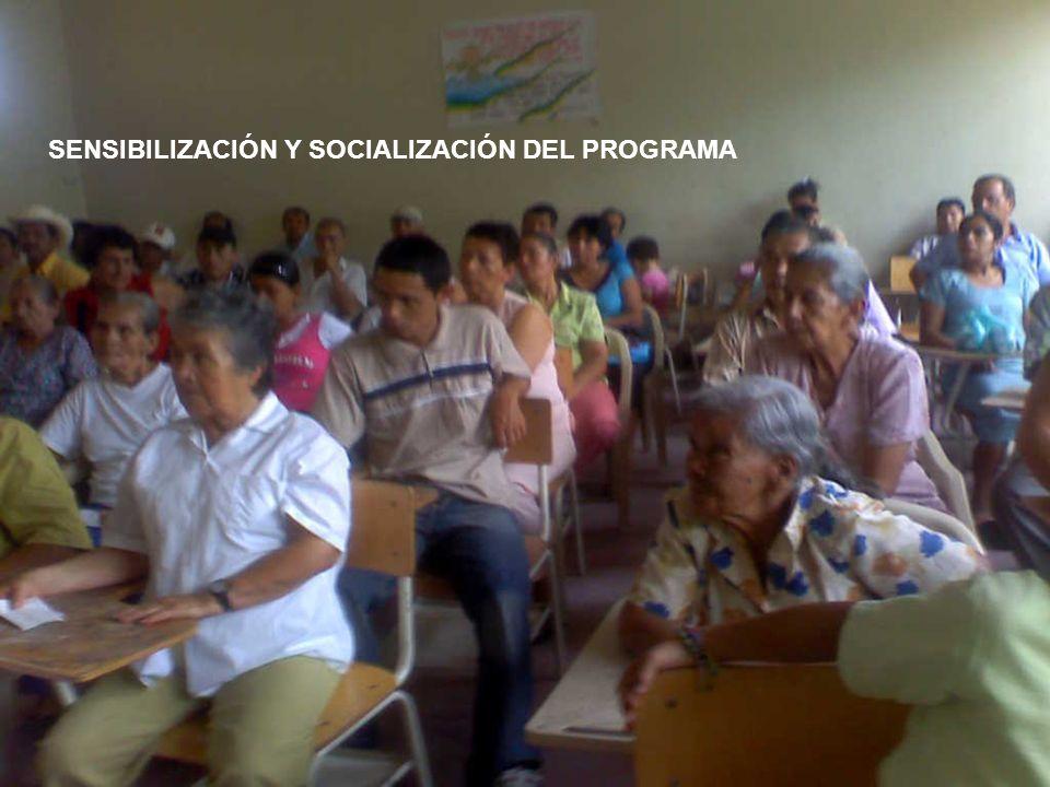 SENSIBILIZACIÓN Y SOCIALIZACIÓN DEL PROGRAMA