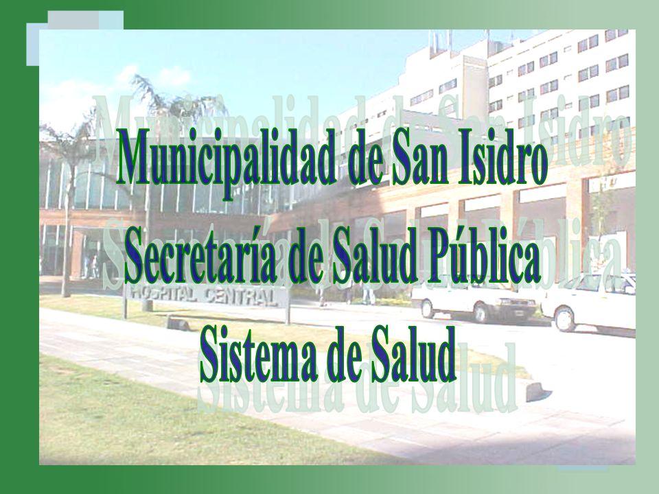 23 Modelo de atención del Partido de San Isidro Programas de Salud ConsultoriosDescentralizadosConsultoriosDescentralizados CapsCaps CAT Htal.