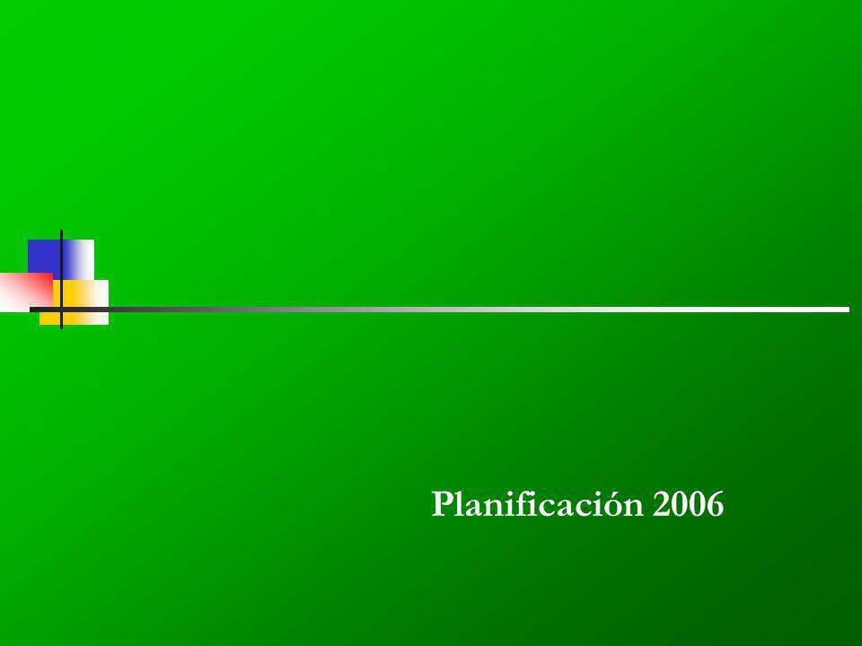 Planificación 2006