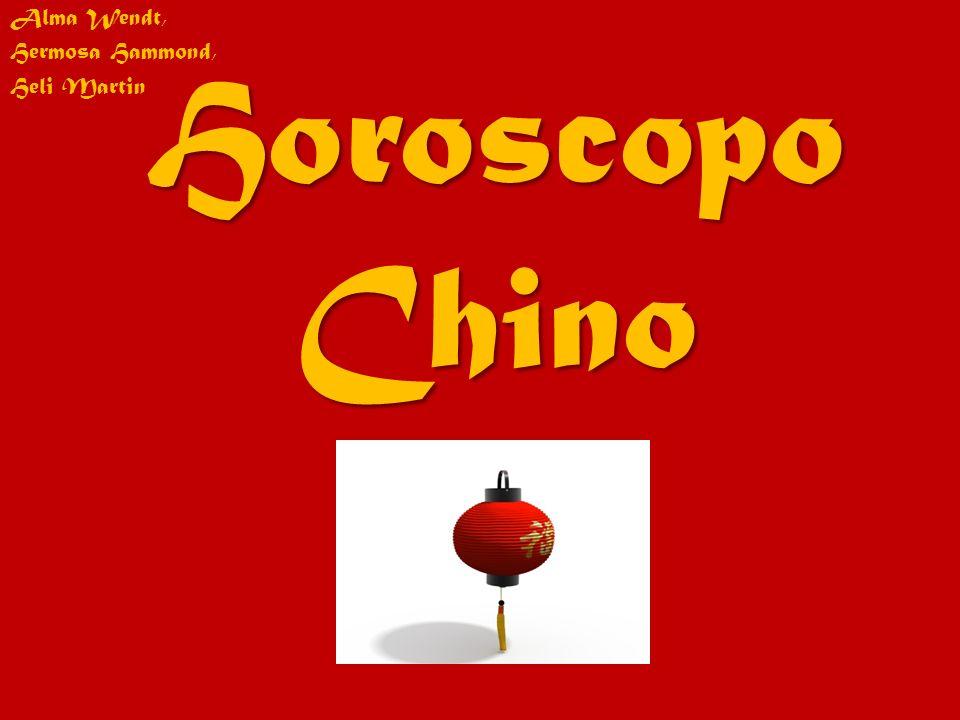 Horoscopo Chino Alma Wendt, Hermosa Hammond, Heli Martin