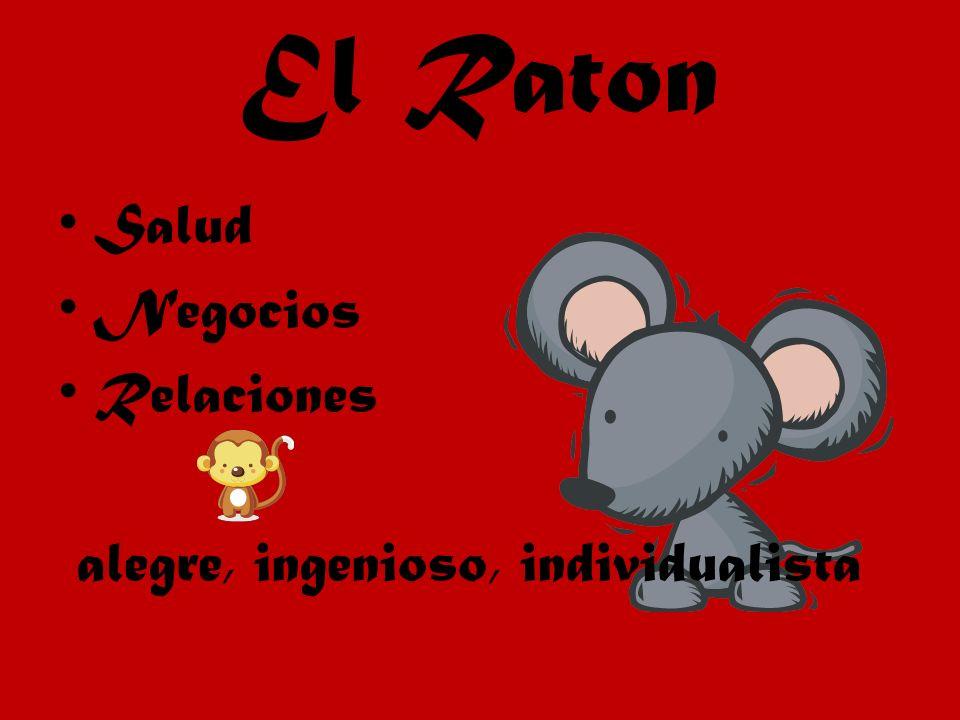 El Raton Salud Negocios Relaciones alegre, ingenioso, individualista