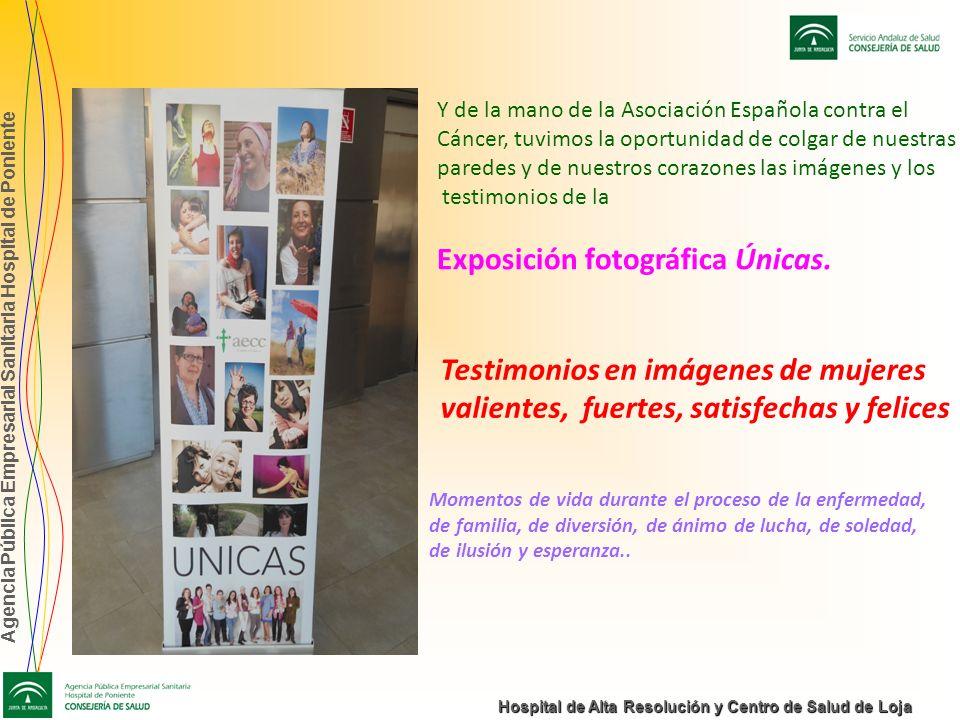 Agencia Pública Empresarial Sanitaria Hospital de Poniente Hospital de Alta Resolución y Centro de Salud de Loja Y de la mano de la Asociación Español