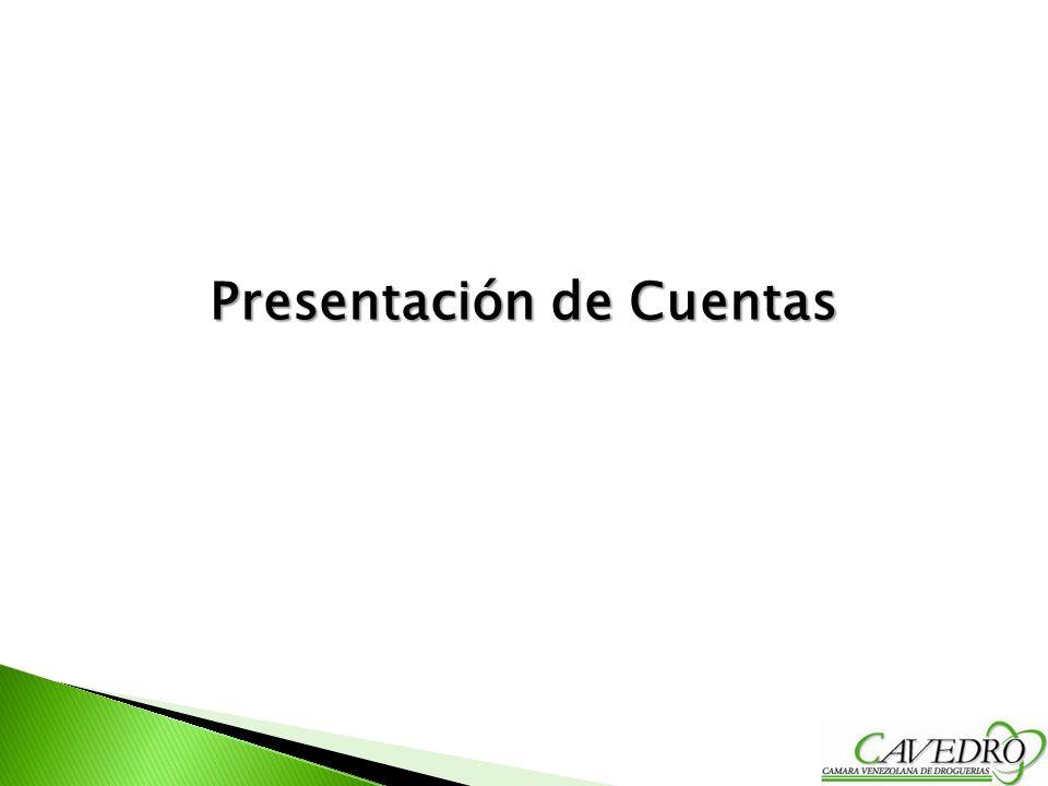 Presentación de Cuentas