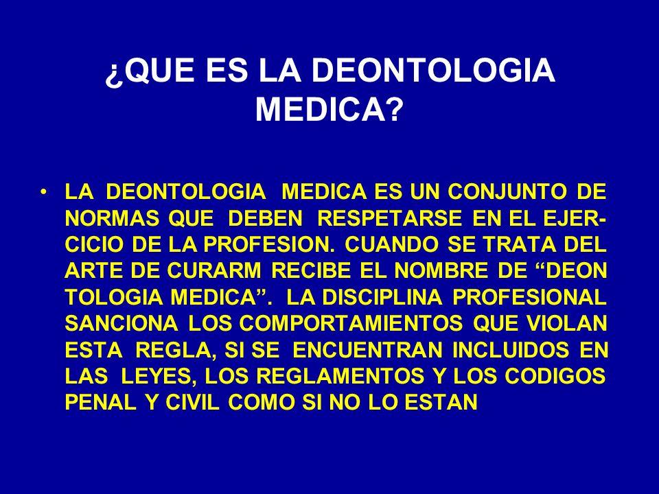 ORIGENES DE LA DEONTOLOGIA MEDICA EL TEXTO MAS ANTIGUO DE DEONTOLOGIA MEDICA ES EL CONO CIDO COMO CODIGO DE HAMMURABI, PROMULGADO EN BABILO- NIA DEL SIGLO XVIII A.