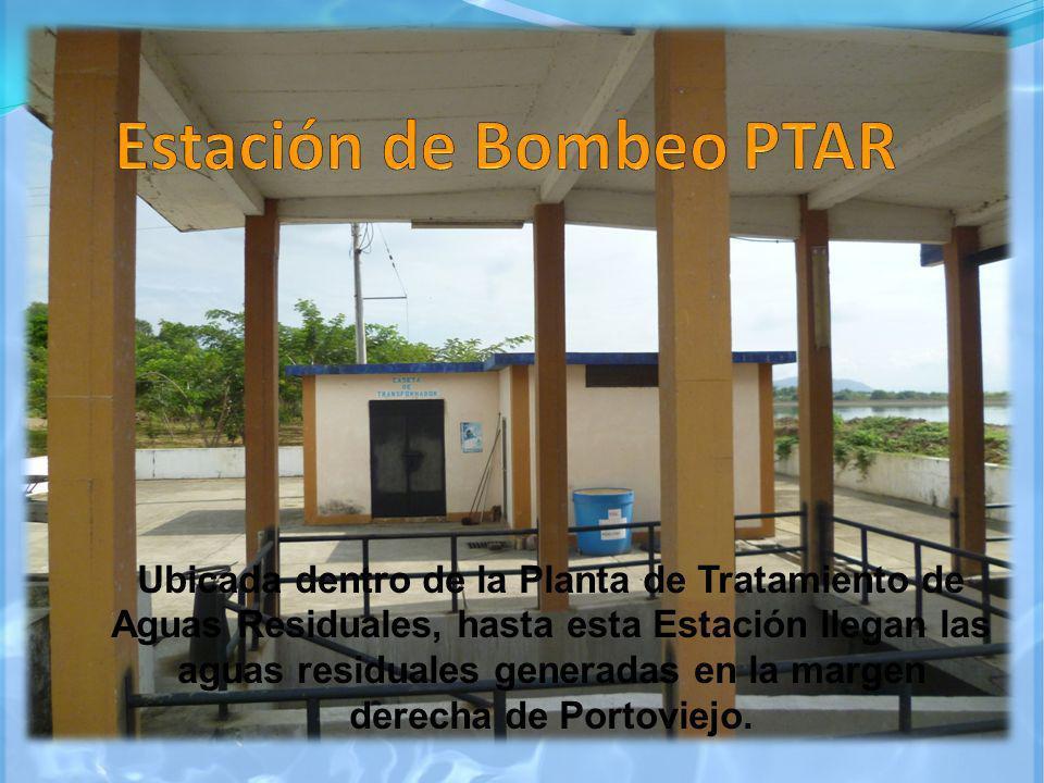 Ubicada dentro de la Planta de Tratamiento de Aguas Residuales, hasta esta Estación llegan las aguas residuales generadas en la margen derecha de Port