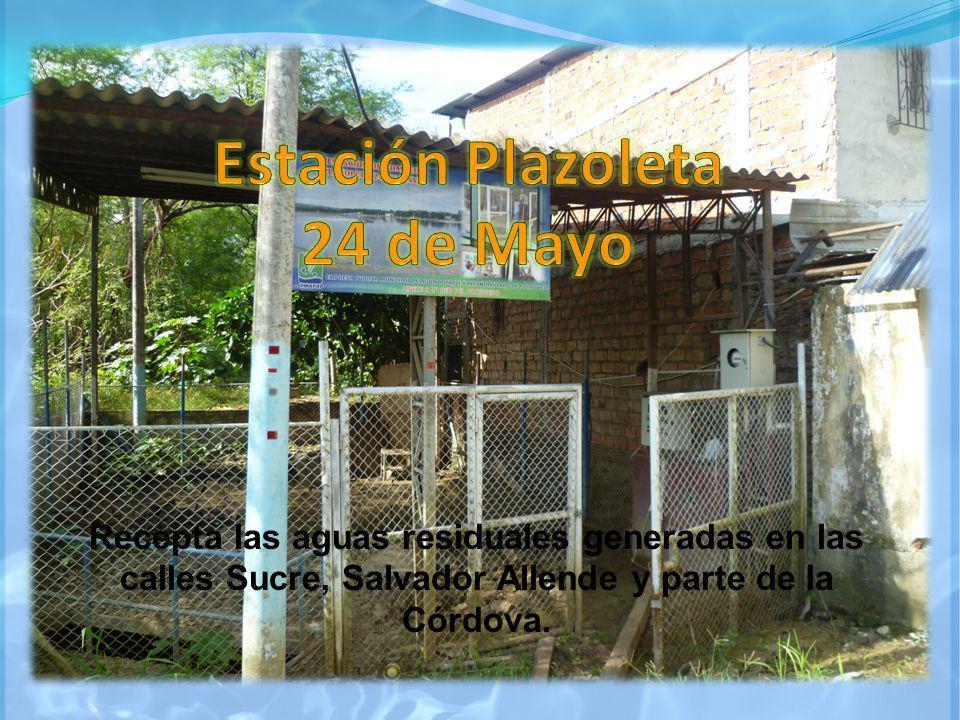 Ubicada en las intersecciones de las calles 26 de Septiembre y Beker, recepta las aguas del sector El Guabito.