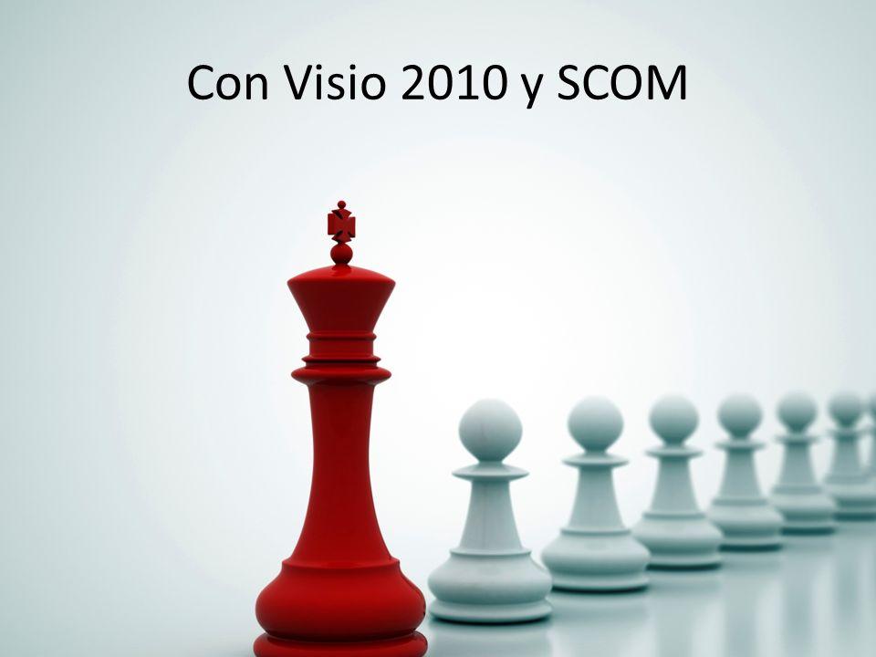 Con Visio 2010 y SCOM