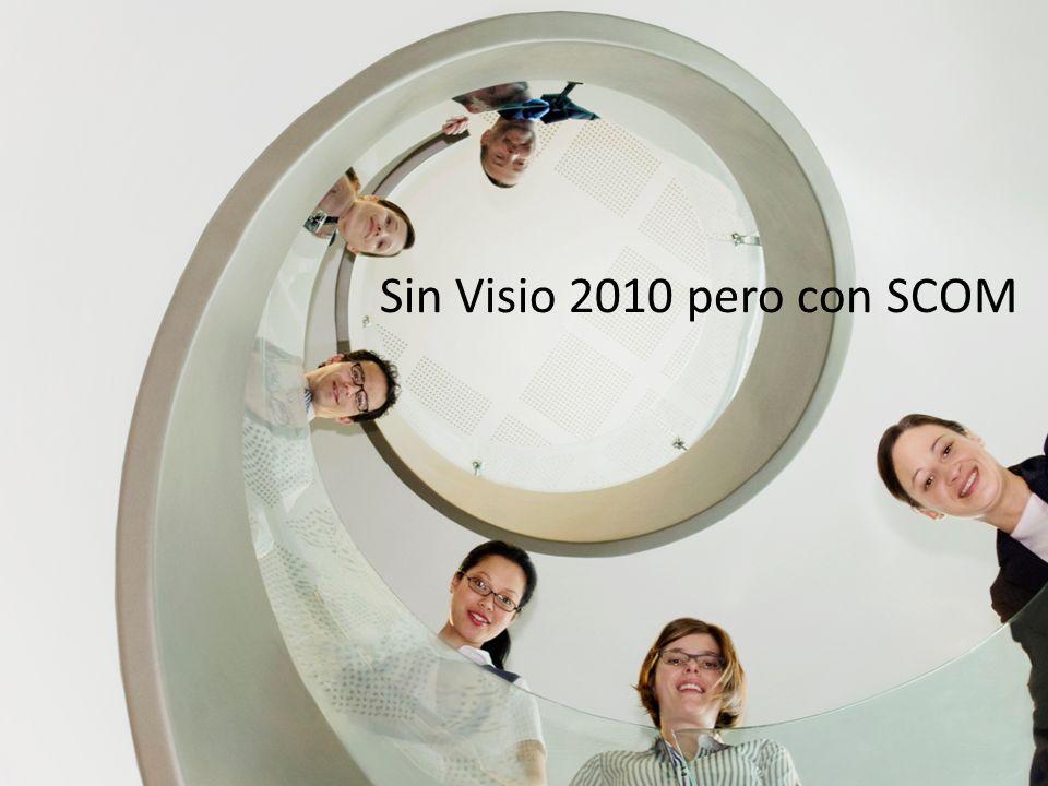 Sin Visio 2010 pero con SCOM