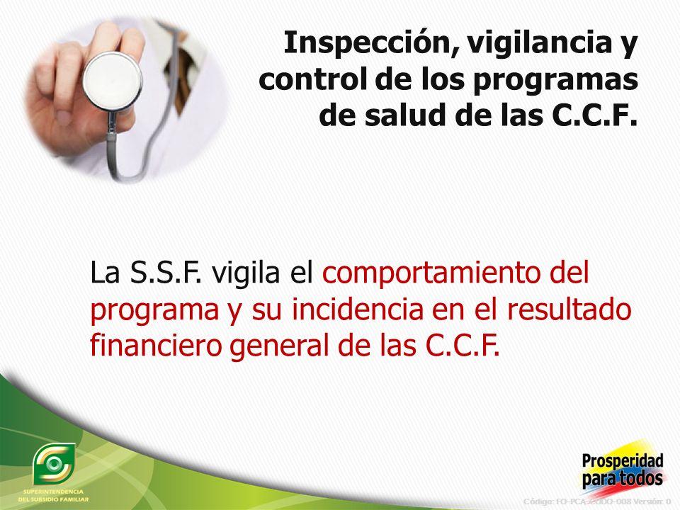 Código: FO-PCA-CODO-008 Versión: 0 La S.S.F.