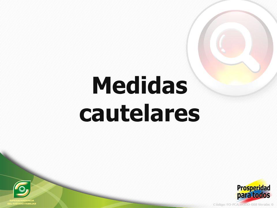 Código: FO-PCA-CODO-008 Versión: 0 Implementación sistema integral de difusión de la Superintendencia del subsidio familiar en Colombia.