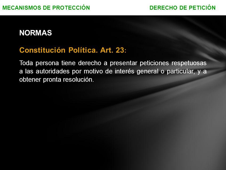 Constitución Política.Art.
