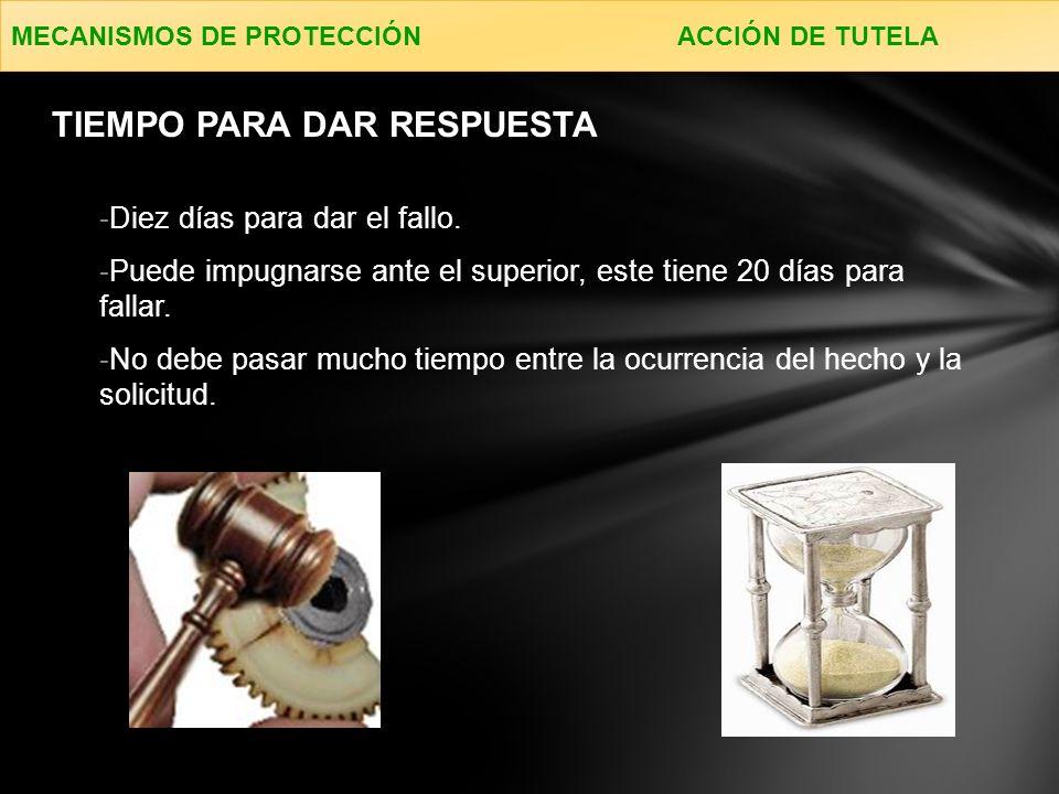 MECANISMOS DE PROTECCIÓN ACCIÓN DE GRUPO ACCIÓN DE GRUPO