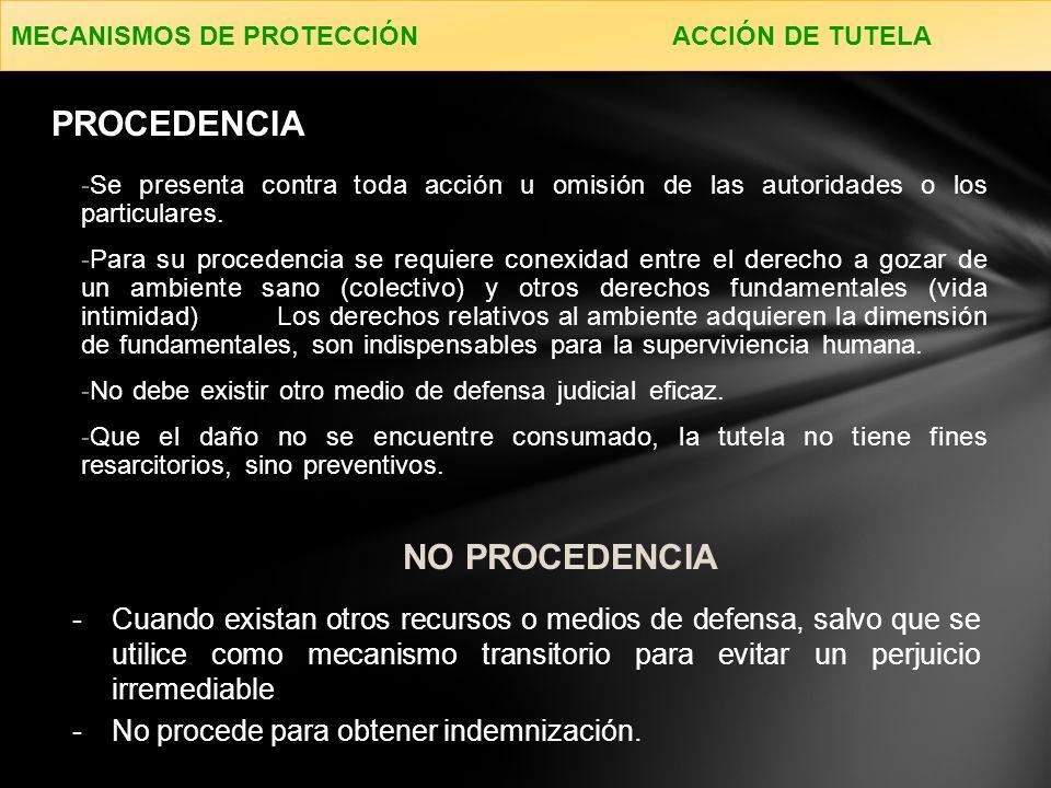 -Se presenta contra toda acción u omisión de las autoridades o los particulares.