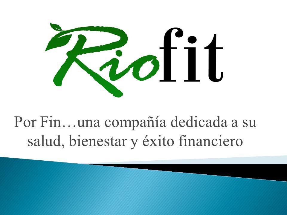 Por Fin…una compañía dedicada a su salud, bienestar y éxito financiero