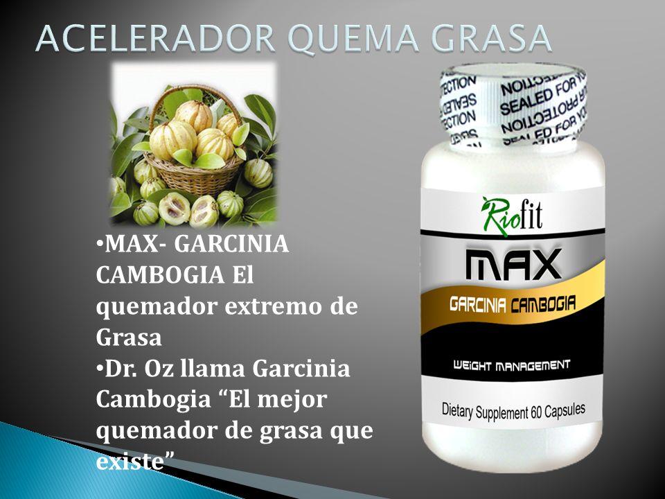 MAX- GARCINIA CAMBOGIA El quemador extremo de Grasa Dr.